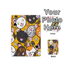 Cats Cute Kitty Kitties Kitten Playing Cards 54 (Mini)  by Zeze