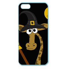 Halloween giraffe witch Apple Seamless iPhone 5 Case (Color)