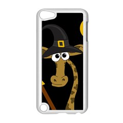 Halloween Giraffe Witch Apple Ipod Touch 5 Case (white) by Valentinaart