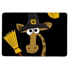 Halloween Giraffe Witch Ipad Air Flip by Valentinaart