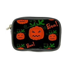 Halloween Pumpkin Pattern Coin Purse by Valentinaart