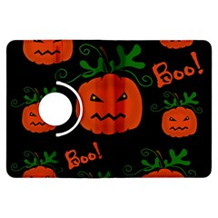 Halloween Pumpkin Pattern Kindle Fire Hdx Flip 360 Case by Valentinaart