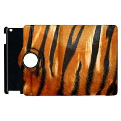 Tiger Apple Ipad 3/4 Flip 360 Case by AnjaniArt
