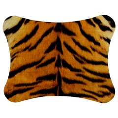 Tiger Skin Jigsaw Puzzle Photo Stand (Bow) by AnjaniArt
