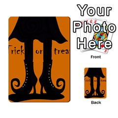 Halloween   Witch Boots Multi Purpose Cards (rectangle)  by Valentinaart