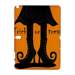 Halloween   Witch Boots Samsung Galaxy Note 10 1 (p600) Hardshell Case by Valentinaart