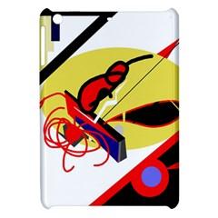 Abstract art Apple iPad Mini Hardshell Case by Valentinaart