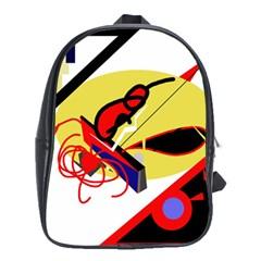 Abstract Art School Bags (xl)  by Valentinaart