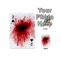 Gunshot Wound Playing Cards 54 (Mini)  by TailWags