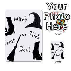 Halloween Witch Multi Purpose Cards (rectangle)  by Valentinaart