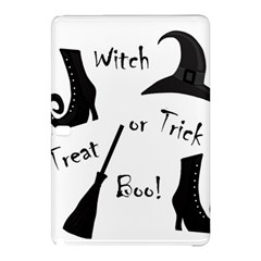 Halloween Witch Samsung Galaxy Tab Pro 10 1 Hardshell Case by Valentinaart