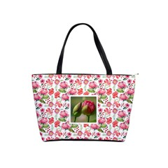 Floral Classic Shoulder Handbag By Joy   Classic Shoulder Handbag   Dssunfhb727u   Www Artscow Com Front