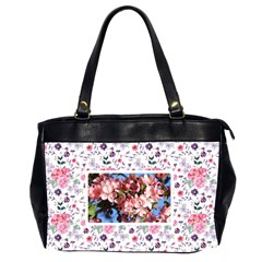 2sided Floral Oversize Handbag By Joy   Oversize Office Handbag (2 Sides)   Gd6kqovzrj61   Www Artscow Com Front