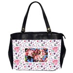 2sided Floral Oversize Handbag - Oversize Office Handbag (2 Sides)