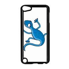 Blue Lizard Apple Ipod Touch 5 Case (black) by Valentinaart
