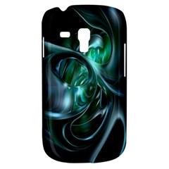 Ws Blue Green Float Samsung Galaxy S3 MINI I8190 Hardshell Case by AnjaniArt