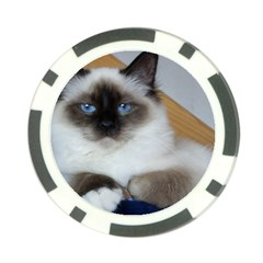 Birman second Poker Chip Card Guards by TailWags