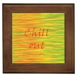 Chill out Framed Tiles