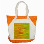 Chill out Accent Tote Bag