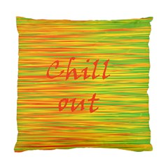 Chill Out Standard Cushion Case (two Sides) by Valentinaart