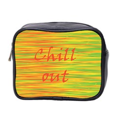 Chill Out Mini Toiletries Bag 2 Side by Valentinaart