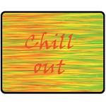 Chill out Fleece Blanket (Medium)