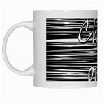 Black an white  Chill out  White Mugs