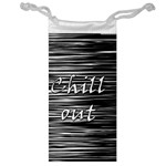 Black an white  Chill out  Jewelry Bags