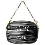 Black an white  Chill out  Chain Purses (Two Sides)