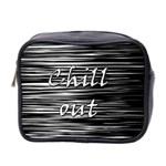 Black an white  Chill out  Mini Toiletries Bag 2-Side