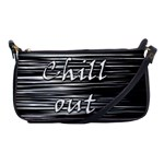 Black an white  Chill out  Shoulder Clutch Bags