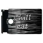 Black an white  Chill out  Apple iPad 2 Flip 360 Case