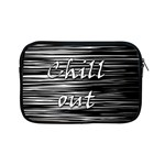 Black an white  Chill out  Apple iPad Mini Zipper Cases
