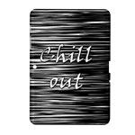 Black an white  Chill out  Samsung Galaxy Tab 2 (10.1 ) P5100 Hardshell Case