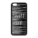 Black an white  Chill out  Apple iPhone 5C Seamless Case (Black)