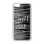Black an white  Chill out  Apple iPhone 5C Seamless Case (White)