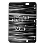 Black an white  Chill out  Kindle Fire HDX 8.9  Hardshell Case
