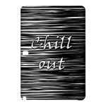 Black an white  Chill out  Samsung Galaxy Tab Pro 10.1 Hardshell Case
