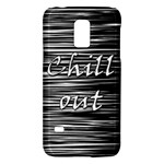Black an white  Chill out  Galaxy S5 Mini