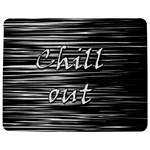 Black an white  Chill out  Jigsaw Puzzle Photo Stand (Rectangular)