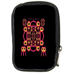Alphabet Shirt Compact Camera Cases by MRTACPANS