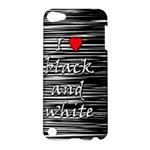I love black and white 2 Apple iPod Touch 5 Hardshell Case