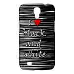 I love black and white 2 Samsung Galaxy Mega 6.3  I9200 Hardshell Case