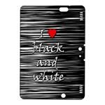 I love black and white 2 Kindle Fire HDX 8.9  Hardshell Case