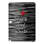 I love black and white 2 Samsung Galaxy Tab Pro 10.1 Hardshell Case
