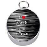 I love black and white 2 Silver Compasses
