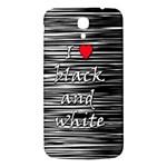 I love black and white 2 Samsung Galaxy Mega I9200 Hardshell Back Case