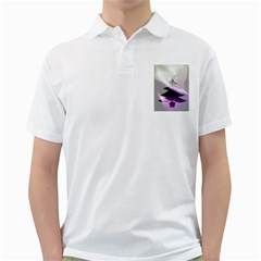Purple Christmas Tree Golf Shirts by yoursparklingshop