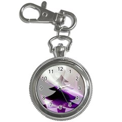 Purple Christmas Tree Key Chain Watches by yoursparklingshop