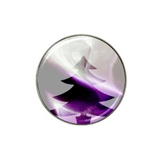 Purple Christmas Tree Hat Clip Ball Marker (10 Pack) by yoursparklingshop